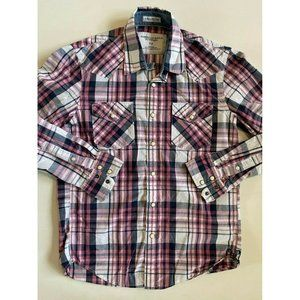 American Eagle Long Sleeve Button Down Men's Small